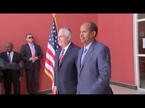 Secretary Tillerson Meets Djibouti Foreign Affairs Minister Youssouf