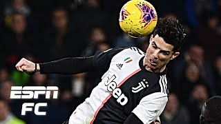 Cristiano Ronaldo's incredible header vs. Sampdoria sends Juventus back top | Serie A Highlights