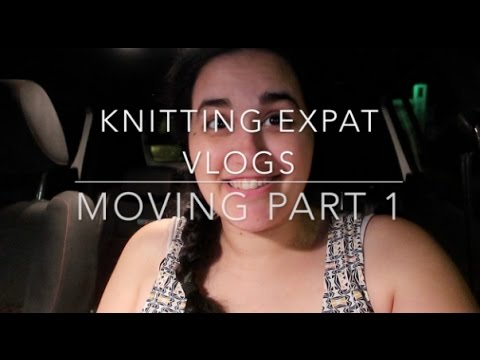 Knitting Expat Vlogs - Moving From Bahrain to New York City - Part 1 - 21-26 November 2016
