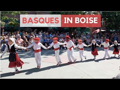 Basque Dancing At San Inazio Festival In Boise, Idaho