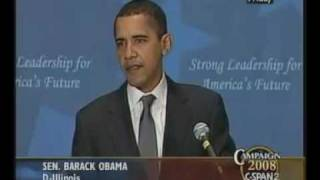 "Barack Obama 2007 Speech ""Our Moment Is Now!"""
