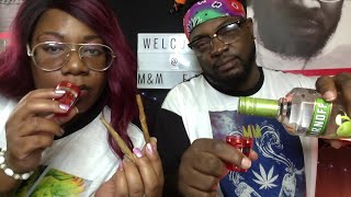 SHOTS N PUFF LIVE INTERACTIVE ADULT GAME|HIGH VIBES|COUPLES VLOG|