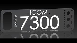 icom ic 7300 tactical bracket for field use part2