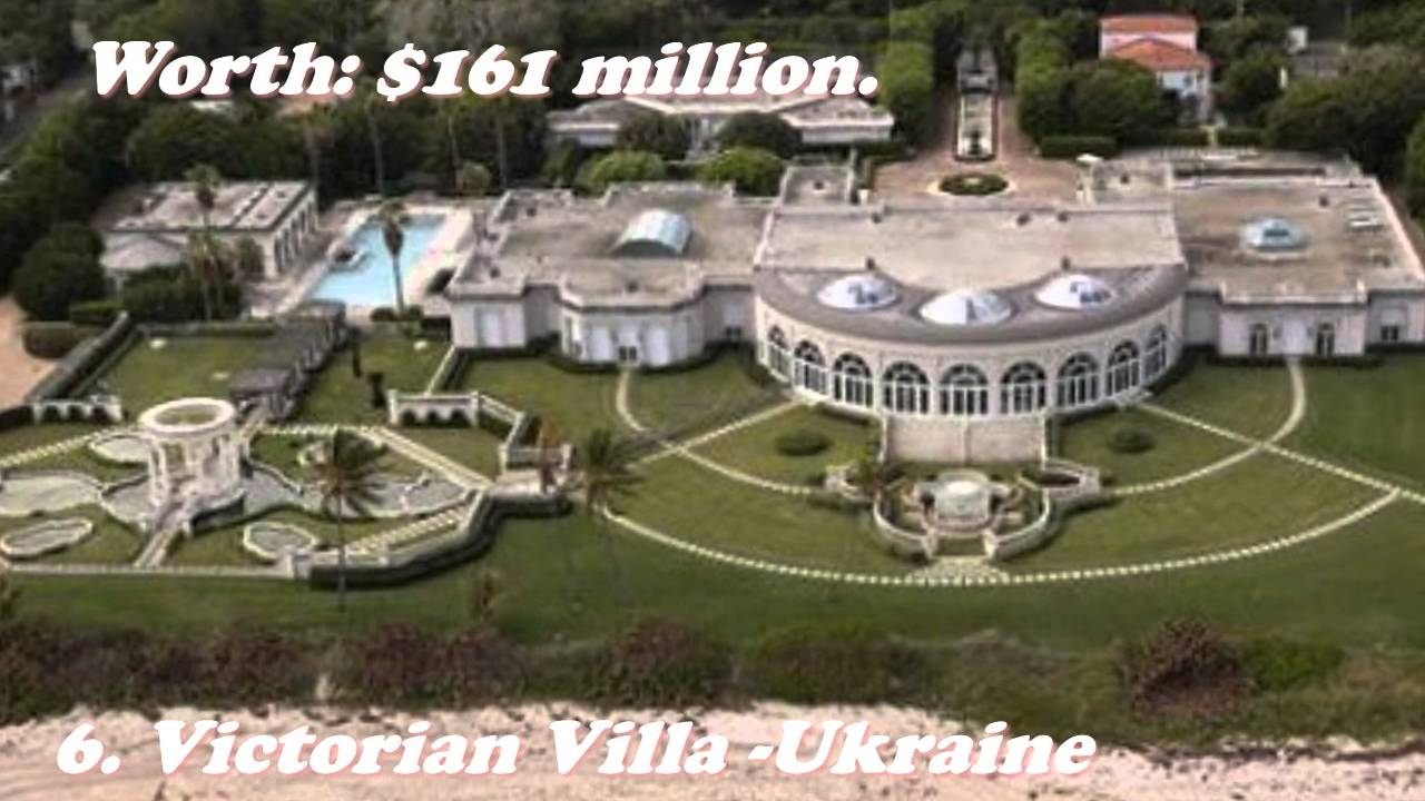 Top 10 Most Luxurious Houses In The World