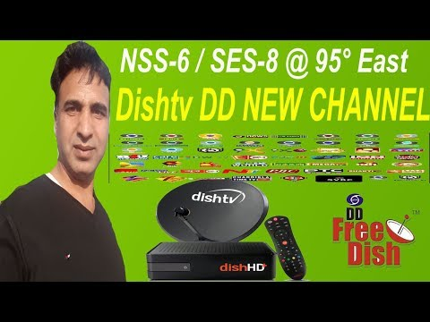 NSS-6  SES-8 @ 95° East Dish Tv New Update Add New Channel Today