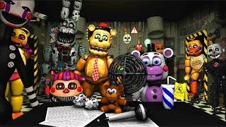 Five Nights at Freddy's 6 Ultimate Custom Night (Fan Game) Video