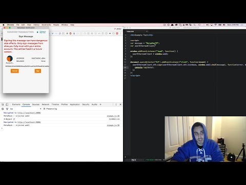 Ultimate Intro to Ethereum Ðapp Development [Part 19] - Implementing an Authentication Scheme