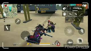 (Ultimate Tamil Gamer channel) Free Fire Squad Ranked Game Play vara Level match