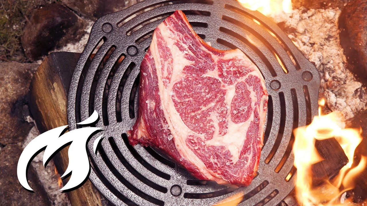 Steak Feuer & Eisen Delmonico ASMR 🔥🔥🔥