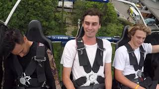 Random Maori Guy Faints on Sky Swing in Rotorua, New Zealand