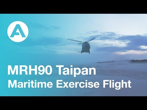 MRH90 Taipan in maritime environment