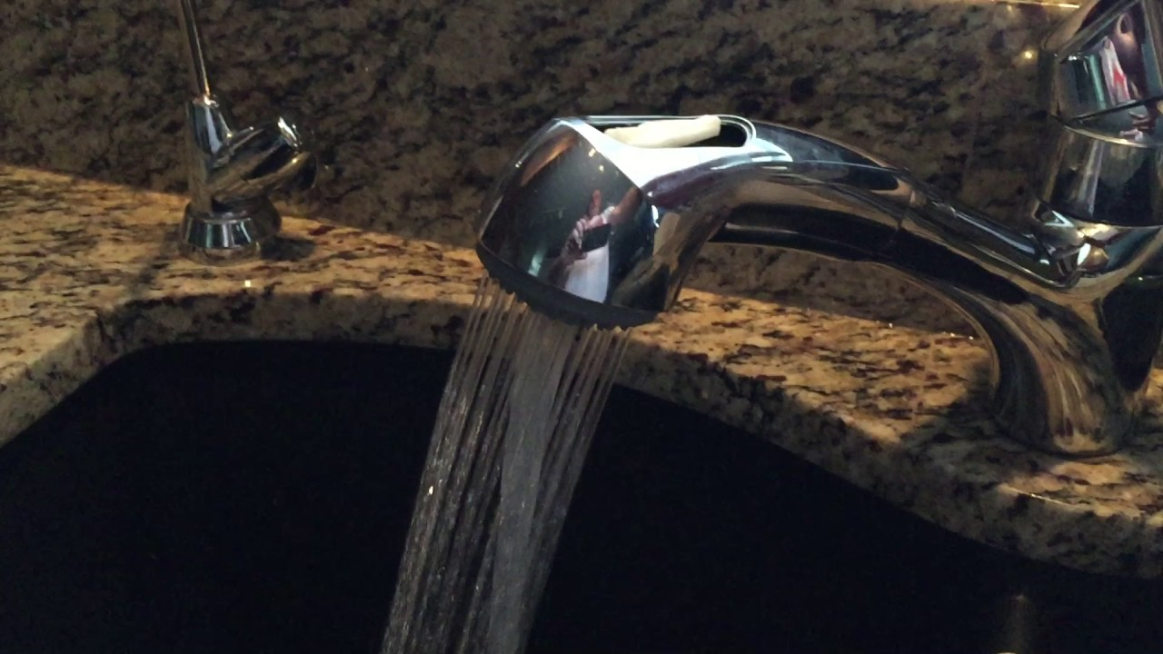 Grohe Faucet Not Changing Spray - YouTube