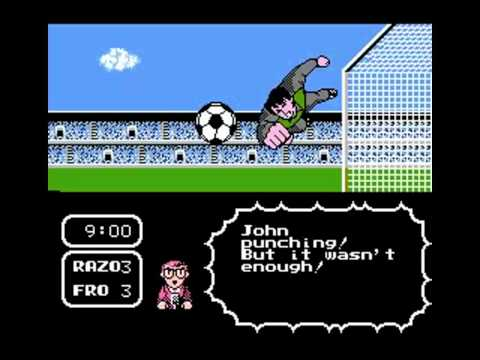 Tecmo Cup  Soccer Game NES 12