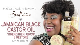 MzNaturalLife Reviews: Shea Moisture Jamaican Black Castor Oil Line {Review Blitz #4]