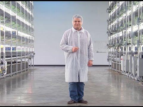 iTech 541: AeroFarms الزراعة العمودية دون سمش ودون تربة Vertical Farming with No Sun No Soil