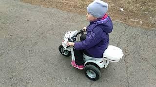 Тюнинг детского мотоцикла Kreiss / электромобиля. Модернизация и доработка elektro-bike/elektro-car