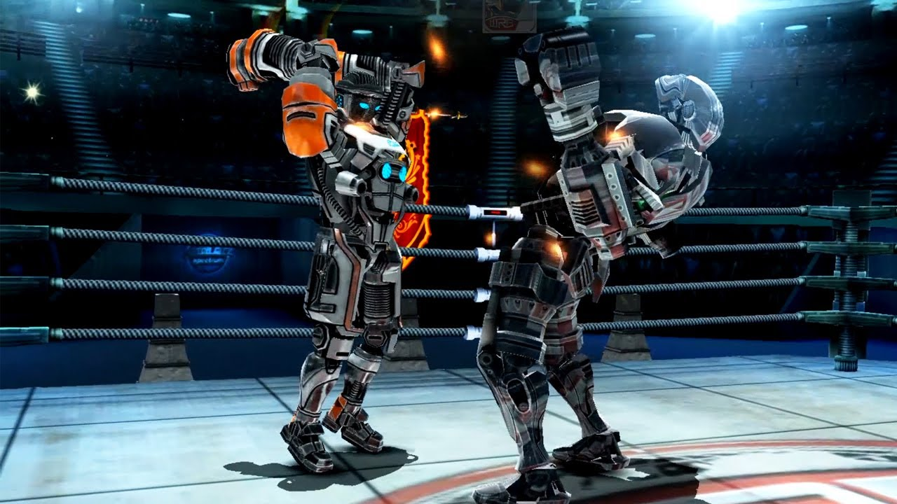 REAL STEEL WRB Atom VS Zeus & Atom & Ambush & Twin Cities