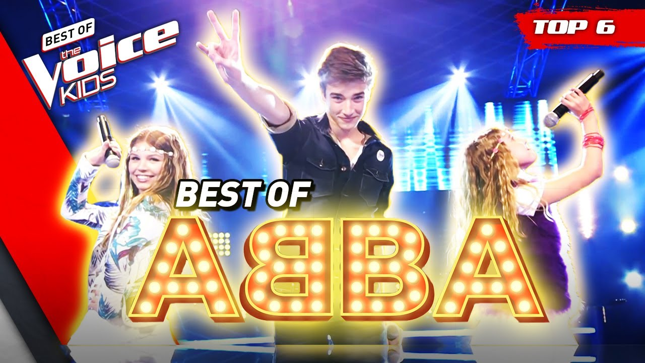 FANTASTIC ABBA Covers in The Voice Kids! 🤩   Top 6