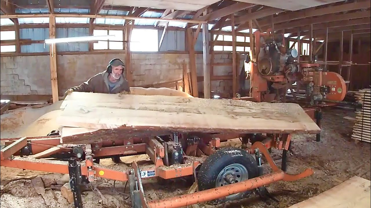 How Wide Can This Sawmill Saw???