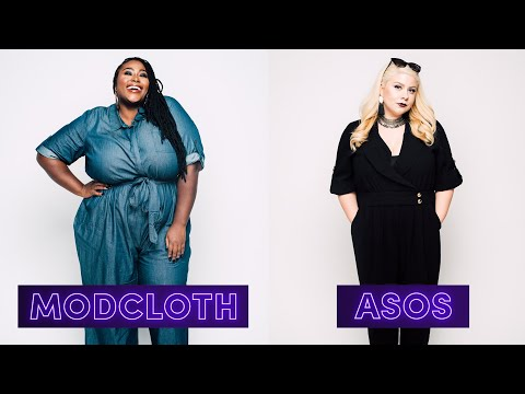 Women Try Plus-Size Clothes From Popular Stores