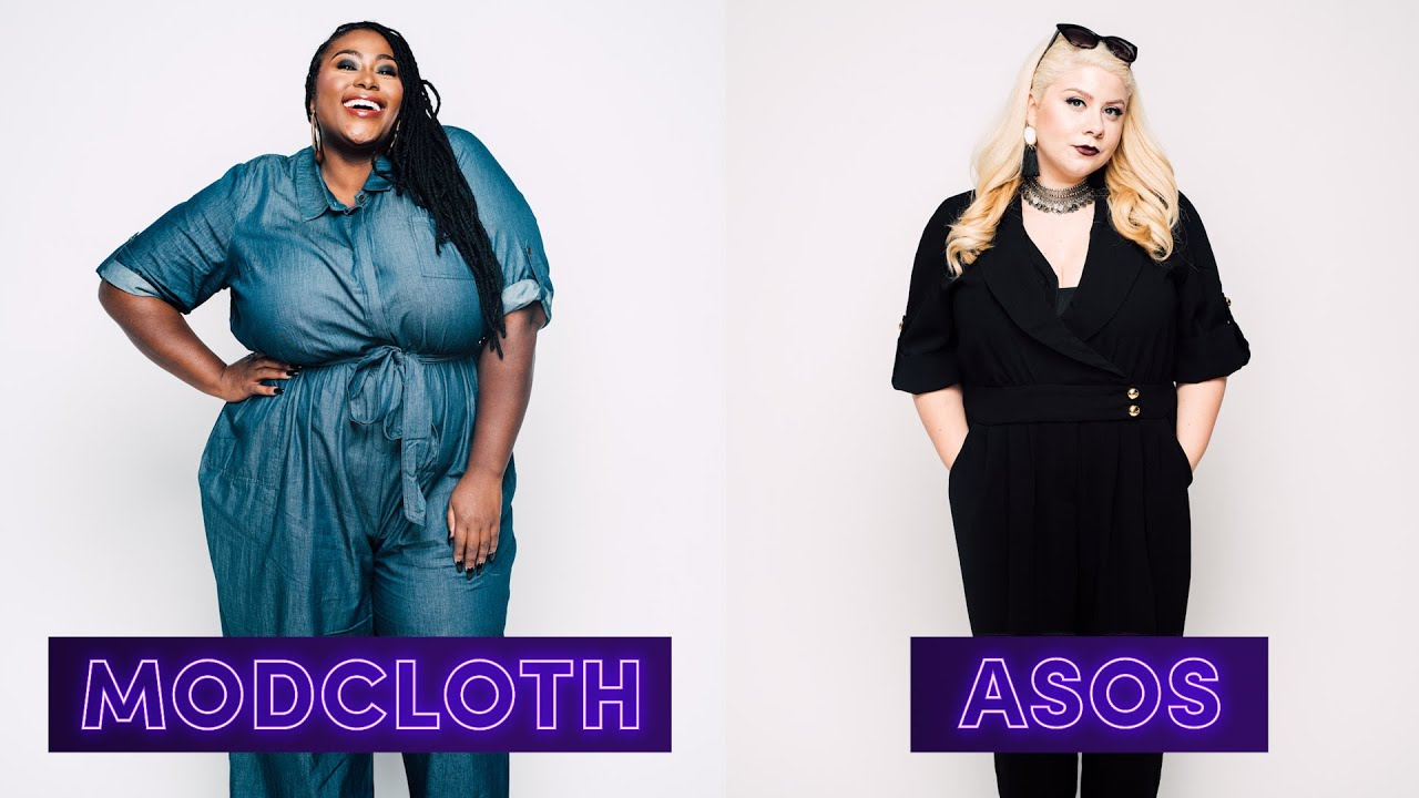 e0d7f5f9f48 Women Try Plus-Size Clothes From Popular Stores - YouTube