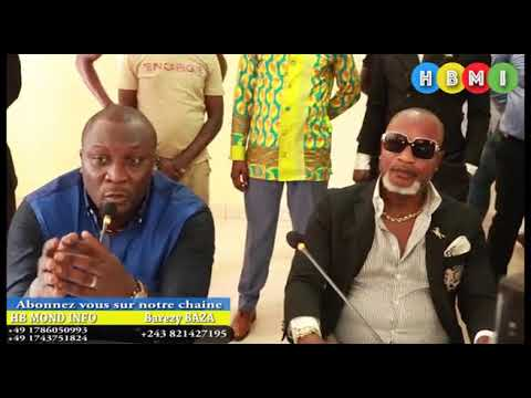 URGENT:CONFERENCE DE PRESSE DE KOFFI OLOMIDE ABIMISI MAKAMBO YA SOMO AKANAKI BANTU BOLANDA