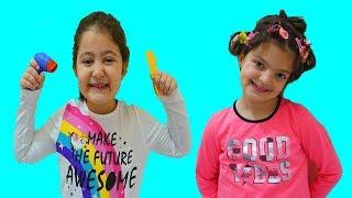 Cute Hairdresser Öykü-funny kids video