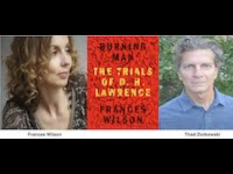 Download Frances Wilson on D.H. Lawrence, with Thad Ziolkowski, Tuesday, September 14, on Zoom