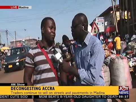 Decongesting Accra - AM Show on JoyNews (27-4-18)