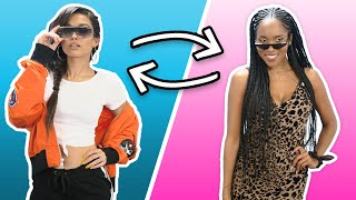 Best Friends Style Each Other for New York - Outfits Under $50