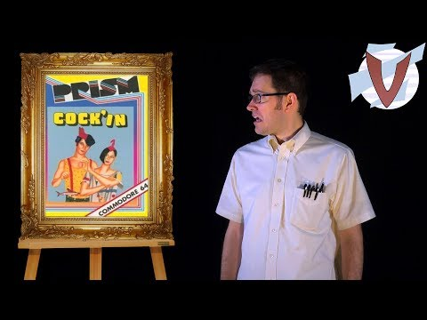 Cock'in (Commodore 64) [AVGN: Bad Game Cover Art 15 - RUS RVV]