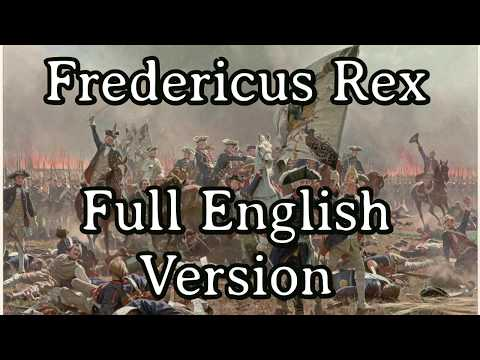 Sing with Michel - Fredericus Rex [Full English Version] from YouTube · Duration:  3 minutes 46 seconds