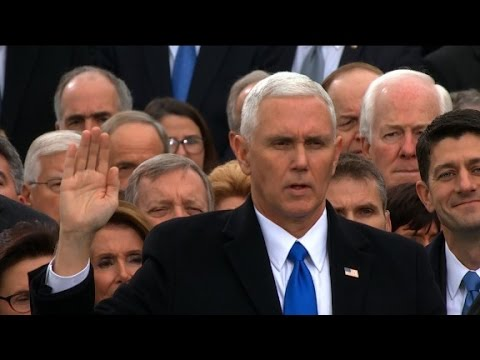 Vice President Mike Pence sworn in