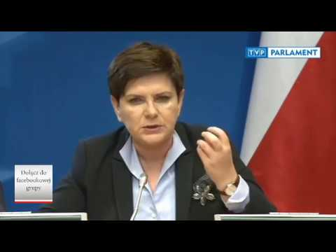 Premier Beata Szydło koncertowo zgasiła Hollanda, który to atakował Polskę