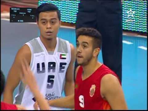 MAROC / EAU Championnat Arabe des Nations 2016/2017 1er & 2éme quarts