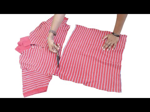 Diy Idea From Old T-shirt // Best Re Use Idea // By Hand made Ideas