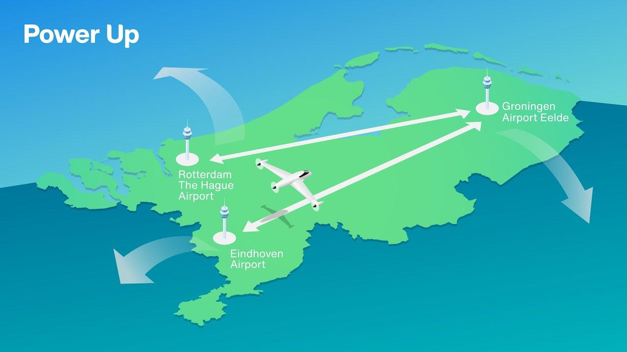 Luchthavens werken samen om elektrisch vliegen van de grond te krijgen