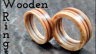 wooden rings | FUN WITH WOOD / RGR by James O'Rear