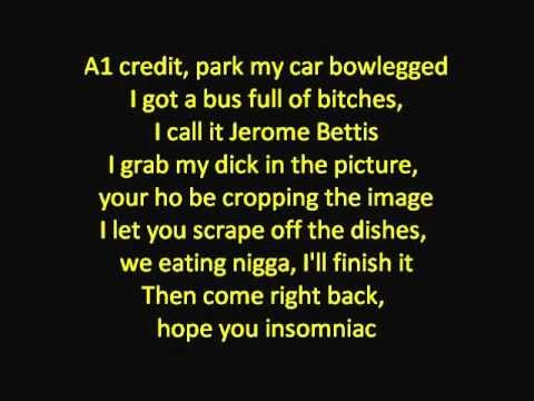 Meek Mill - A1 Everything Ft. Kendrick Lamar -LYRICS (HD/HQ)