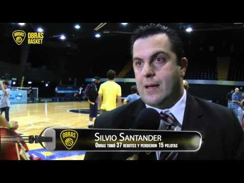 Nota Silvio Santander Post Obras-Peñarol (20-10-2013)