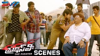 Ram Charan Stunt Scene | Bruce Lee The Fighter Movie | Rakul Preet | Kriti Kharbanda | Ali | Thaman