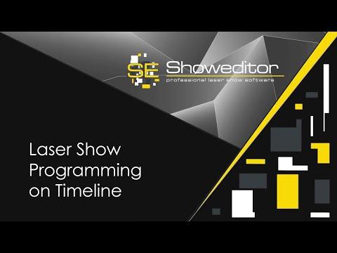 Laser Show Programming on Timeline with Laserworld Showeditor | Laserworld
