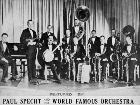 Paul Specht And His Orchestra Paul Specht & His Orchestra On With The Dance! / My Annapolis