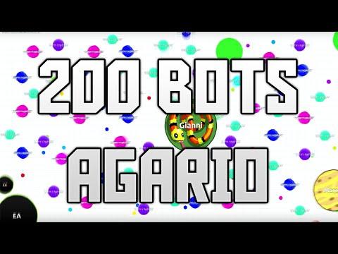 Gameplay Agario 200 BOTS +30000 MASA!! - RAGA MINIONS