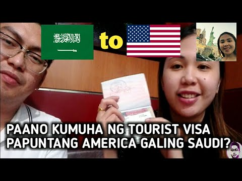 HOW TO APPLY FOR A U.S.A TOURIST VISA IN THE SAUDI ARABIA?