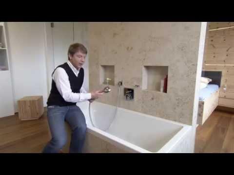 wasser und energie sparen beim zirben thoma holz 100 haus. Black Bedroom Furniture Sets. Home Design Ideas