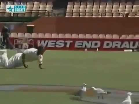 17 Spectacular Catches By Rahul Dravid !