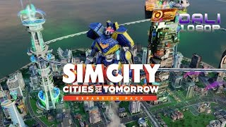 SimCity™: Cities of Tomorrow PC Gameplay 1080p 60fps
