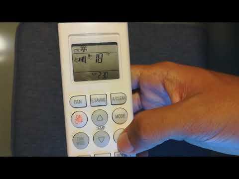 AC Tidak dingin? | berikut cara mengatur remote ac daikin agar cepat dingin.