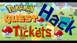 Pokemon Quest Hack - Free Tickets for ios and android / how to hack pokemon quest